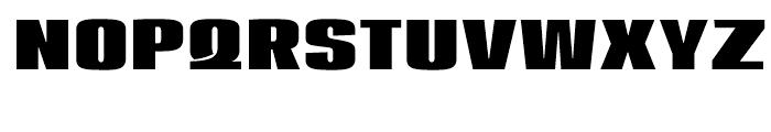 Loft Bold Font UPPERCASE