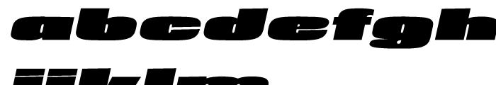 Loft Mammoth Italic Font LOWERCASE