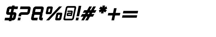 Logan Five Bold Italic Font OTHER CHARS