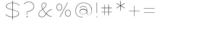 Logo Sans Light Font OTHER CHARS