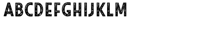 Look Sans Jean Bold Font UPPERCASE