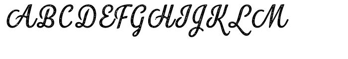 Look Script Jean Regular Font UPPERCASE