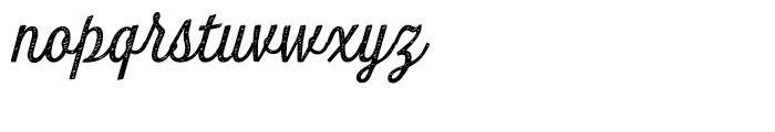 Look Script Jean Regular Font LOWERCASE