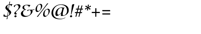 Lorenzo Swash Light Font OTHER CHARS