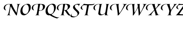 Lorenzo Swash Font UPPERCASE
