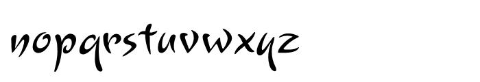 Lourdes Regular Font LOWERCASE