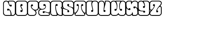 Love Open Font UPPERCASE