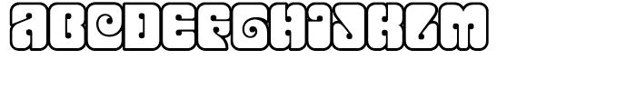 Love Open Font LOWERCASE