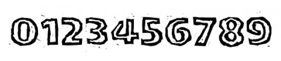 LogJam Inline Font OTHER CHARS