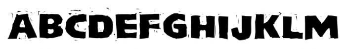 LogJam Regular Font UPPERCASE