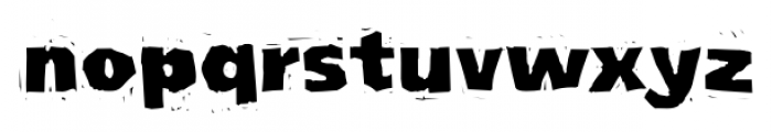 LogJam Regular Font LOWERCASE