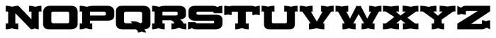 Lost Hills JNL Regular Font UPPERCASE