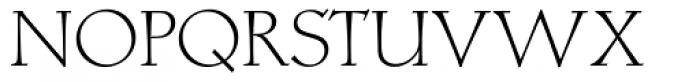 Locarno Light Font UPPERCASE