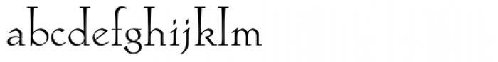 Locarno Light Font LOWERCASE