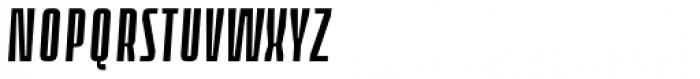Loch Khas Condensed Demi Bold Italic Font UPPERCASE