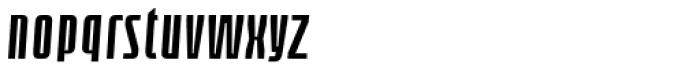 Loch Khas Condensed Demi Bold Italic Font LOWERCASE