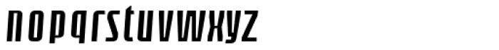 Loch Khas Demi Bold Italic Font LOWERCASE