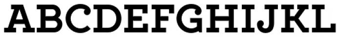 Locke Bold Font UPPERCASE
