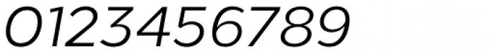 Loew Italic Font OTHER CHARS