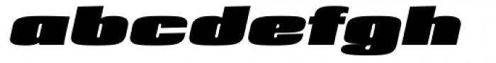Loft ExtraBold Italic Font LOWERCASE