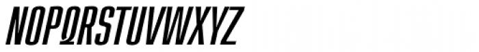 Loft Light Italic Font UPPERCASE