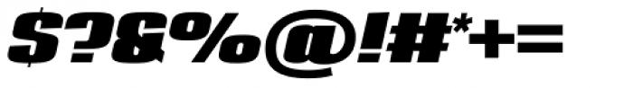 Loft Std Bold Italic Font OTHER CHARS