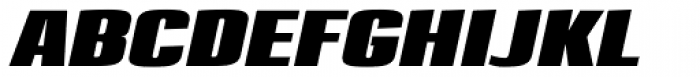 Loft Std Bold Italic Font UPPERCASE