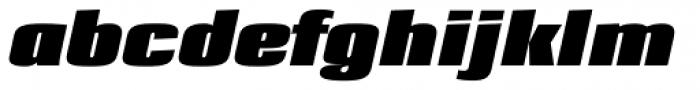Loft Std Bold Italic Font LOWERCASE