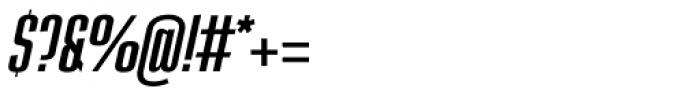 Loft Std Light Italic Font OTHER CHARS