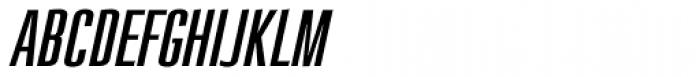 Loft Std Light Italic Font UPPERCASE