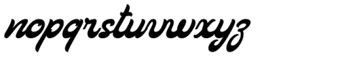 Loftype Font LOWERCASE