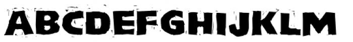Log Jam Font UPPERCASE
