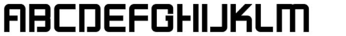 LoganFive Bold Font UPPERCASE