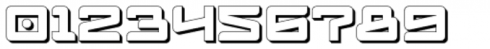 Logofontik Extruded 4F Font OTHER CHARS