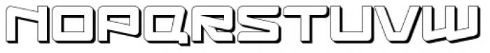 Logofontik Extruded 4F Font UPPERCASE
