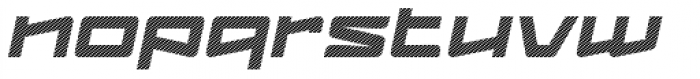 Logofontik Stripes 4F Italic Font LOWERCASE