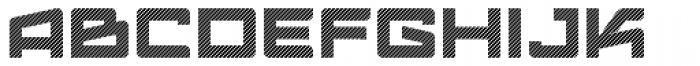 Logofontik Stripes 4F Font UPPERCASE