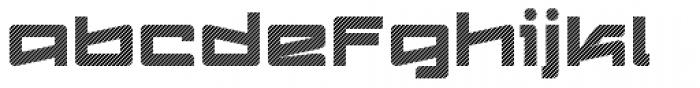 Logofontik Stripes 4F Font LOWERCASE