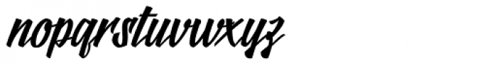 Logotype Frenzy Font LOWERCASE