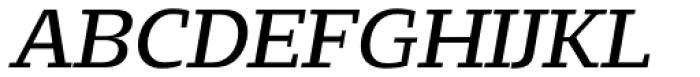 Loka Extended Oblique Font UPPERCASE
