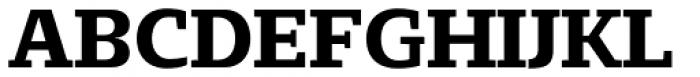 Loka Extended Semi Bold Font UPPERCASE