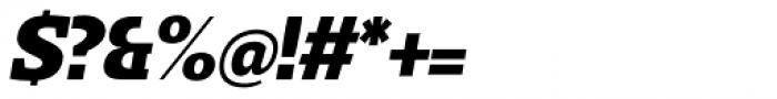 Loka Extra Bold Oblique Font OTHER CHARS