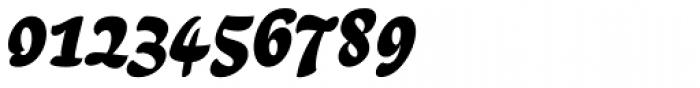 Lokal Script 22 Bold Italic Font OTHER CHARS