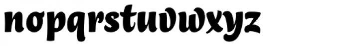 Lokal Script 22 Bold Font LOWERCASE