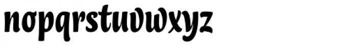 Lokal Script 33 Font LOWERCASE