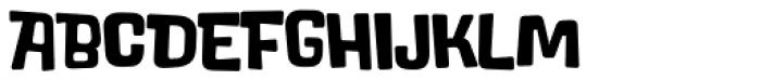 Lolapeluza Black Font UPPERCASE