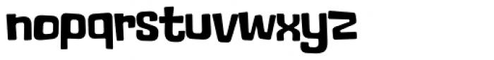 Lolapeluza Black Font LOWERCASE