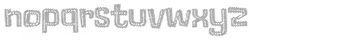 Lolapeluza Line Font LOWERCASE