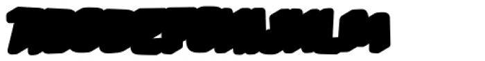 Lolapeluza Two Bold Extrude Left Font UPPERCASE