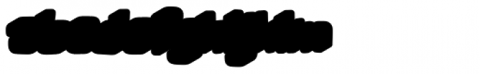 Lolapeluza Two Bold Extrude Left Font LOWERCASE